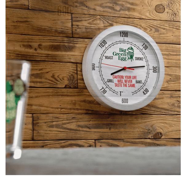 Picture of BIG GREEN EGG WALL CLOCK