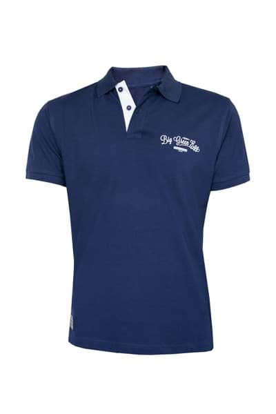 Immagine di BIG GREEN EGG POLOSHIRT BLUE - LARGE