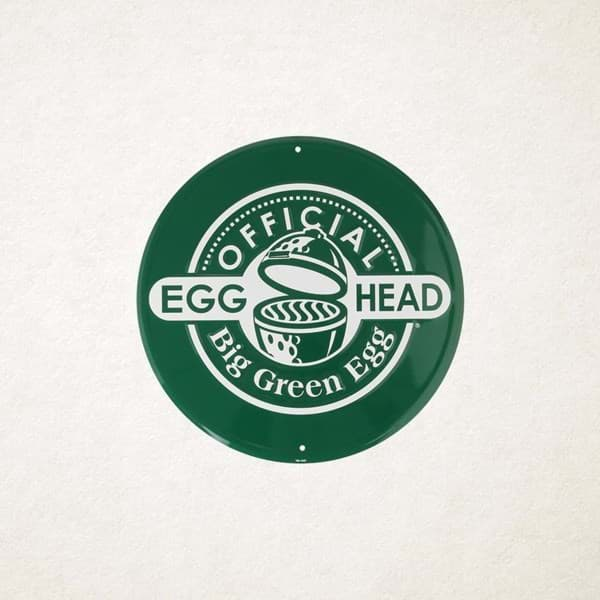Picture of ROUND GREEN SIGN OFFICIAL EGGHEAD