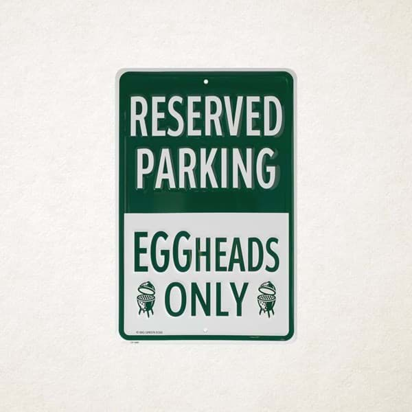Image de EGGHEADS ONLY PARKING SIGN